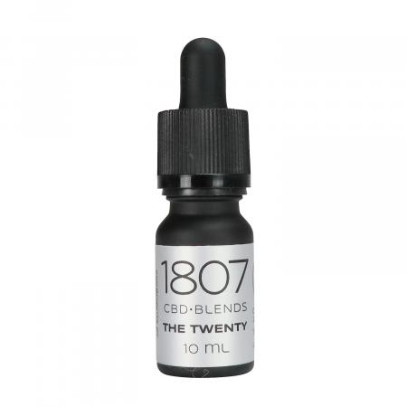 THE TWENTY – 20% DE ACEITE DE CBD