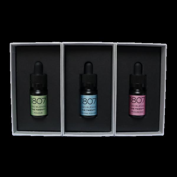 CBD Oil new aromas 3x with box